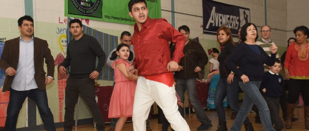 Photo by John Fitzgerald for Ritalsa Dance Peruvian Culttre Event, in Lagan Village Belfast, A Hge success, article by  Zoe McGivern for Integrate NI